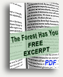 Download a free excerpt from The Forest Has You